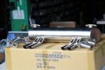 VINTAGE SPEED ABARTHスタイル ジャーマンルックマフラー T-1 スタンドエンジン専用 w/ヒートライザー